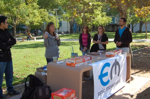 Preparing for the Epic Ministry Day at Cal State Fullerton