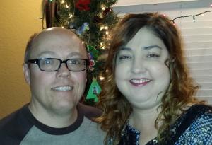 Dave and Jen - Christmas 2014