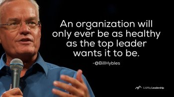 Bill Hybels is the pastor of Willow Creek Church and the founder of the Global Leadership Summit